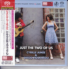 """""""Cyrille Aimee Diego Figueiredo Just The Two Of Us"""" Japan Venus Records SACD New"""