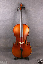 Acoustic Model 1/2 cello Rich Sound Hand Carve Solid wood Maple SPruce