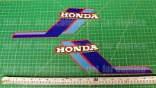 1984 84' honda ATC 110 ATV Gas Tank 2pc vintage Graphics decal stickers