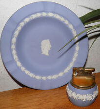 Vintage Wedgwood Queensware Cigarette Lighter & Ashtray Priced 2 Sell Today