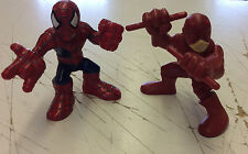 Hasbro Superhero Squad Daredevil/ Spiderman Action Figures! See Pics!