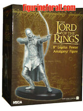 "NECA Lord of the Rings LEGOLAS 8"" Fine Pewter Amalgama statue Figure New Sealed"
