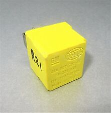 Vauxhall Opel 4-Pin Yellow Glow Plug/ Ignition Relay 90226846 Hella 4RA007793-06