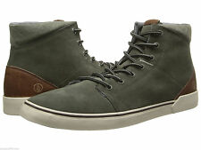 Volcom Buzzard Mens Size 10.5 M Army Green Suede Sneakers Shoes