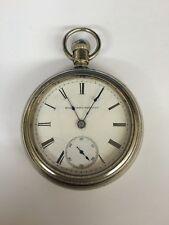 Antique Elgin National G M Wheeler Year 1886 SN#2147344 18s
