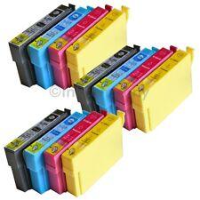12 cartuchos de tinta compatibles para la impresora Epson sx435w sx230 sx430w