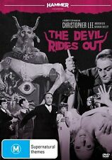 Hammer Horror The Devil Rides Out DVD R4 Brand New