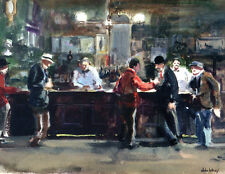 McSorley's  by John Whorf  Giclee Canvas Print Repro