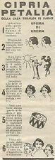 W8081 Cipria Petalia - Pubblicità 1926 - Advertising