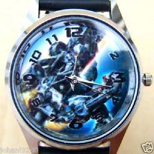 Uurwerk Transformers, zwarte armband met print Ø 36 mm L = 23,5 cm