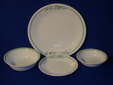 CORNING WARE CHINA ROSEMARIE 4 PIECE SETTING