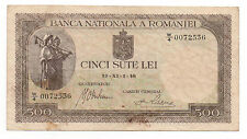 ROMANIA 500 LEI 1940 PICK 51 LOOK SCANS