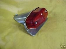 Small custom tail light , new lucas replica,Cafe,alloy, Old School 70's, bobber