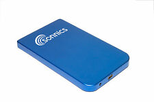 SONNICS 250GB EXTERNAL HARD DRIVE IN BLUE FOR XBOX 360 INSTALL GAMES & PLAY NEW
