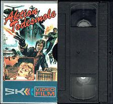 (VHS) Aktion Todesmole 83 - Fred Beir, Gérard Blain, Albert Dalbes, Silvia Solar
