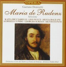 Gaetano Donizetti - Maria de Rudenz (Selezione) (CD 1997) New/Sealed