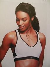 Incredible By Victoria's Secret Sport Bra sz 32B-white/gray