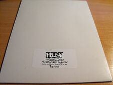 HELLBOY Animated Spade delle tempeste, DEMONI scatenati Uncut Sheet 94/99
