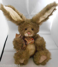 Charlie Bears HAWTHORN Bunny Rabbit QVC Exclusive Isabelle Lee RETIRED Rare VHTF