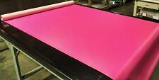 """5 YARDS NEON PINK FAUX LEATHER AUTO UPHOLSTERY FABRIC VINYL 54""""W PLEATHER"""