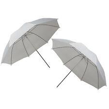"""Umbrella DynaSun 2x UR02 White 43"""" Studio Diffuser Diffusion Softbox Soft Box"""