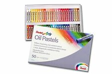 Oil Pastels Set Colors Arts Pentel Fade Resistant Creamy Softness Pack of 50