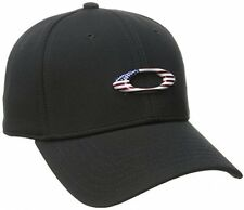 Oakley Men's Tincan Cap Black American Flag Large/X-Large