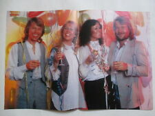 Abba Happy New Year Agnetha Frida Leslie City Rollers clippings POSTER Germany