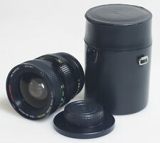 24-40MM F/3.5 MACRO ZOOM LENS FOR CANON FD WITH FRONT/REAR CAPS AND CASE