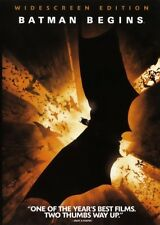 BATMAN BEGINS DVD Christian Bale Superhero Christopher Nolan Origin 2005 NEW
