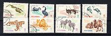 Rumänien Briefmarken 1964 Zoologischer Garten Bukarest Mi.Nr.2330-37