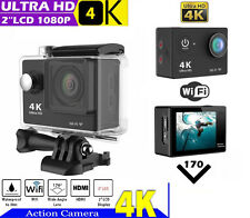4K HD Wifi 12MP para SJ4000 GOPRO 5.1cm Sport Action Impermeable Cámara Cam