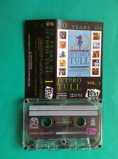 ►► rare Polish cassette mc Jethro Tull 20 YEARS OF vol. 1 POLAND