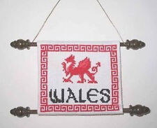 Celtic Obsessions Welsh Dragon Cross Stitch Pattern