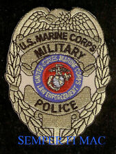 COMMEMORATIVE MILITARY POLICE MP US MARINES PATCH 50TH ANNIVERSARY MCAS MCB USS