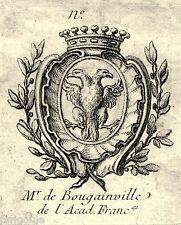 EX-LIBRIS de J. P. de BOUGAINVILLE