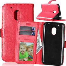 Fashion Leather Flip Wallet Case Cover Card Holder For Motorola Sony ZTE serious