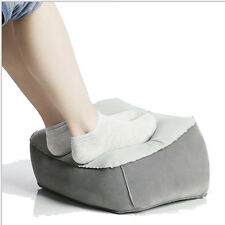 Inflatable Travel Foot Rest Footrest Pillow - Helps Reduce DVT Risk on Flights