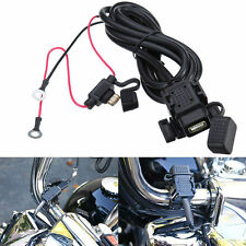 Waterproof Motorcycle Mobile Phone GPS USB Power Supply Port Socket Charger 2.1A