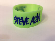 DJ Steve Aoki GLOW IN THE DARK Wristband