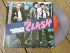 THE CLASH Complete control / city of the dead SPAIN Vynil COULEUR  reissue