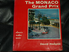 MONACO GRAND PRIX GP DAVID HODGES 1929 TO 1964 AUTO UNION MERCEDES W25 ROSEMEYER