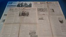THE WAR PAPERS NO 27 DAILY MAIL 1/2/1943 AND DAILY TELEGRAPH 27/1/43 COPIES