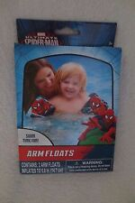 Kid  Marvel Spiderman Two Arm Floats Swim Blue/Red New