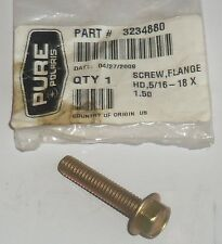 POLARIS PURE OEM NOS SNOWMOBILE ATV FLANGE SCREW 3234880