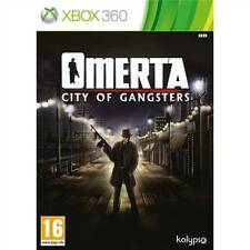 Omerta: City of Gangsters USED SEALED (Microsoft Xbox 360, 2013)