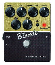 Tech 21 Character Series CS-BL.2 Blond V2 Guitar Distortion Effect Pedal NEW!!!