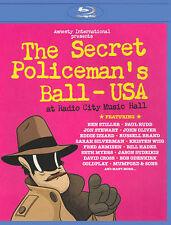 THE SECRET POLICEMAN'S BALL RADIO CITY MUSIC HALL BLU-RAY 4 MARCH 2012