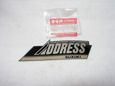 New Suzuki AD50 Leg Shield Emblem ( Fulltime network address ) 68641-29C50-3JZ