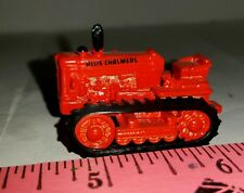 1/64 ERTL custom farm toy orange agco allis chalmers crawler bulldozer tractor